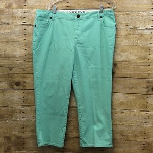 Lands End Cropped Pant